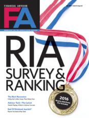 FA Magazine's 2016 RIA Ranking