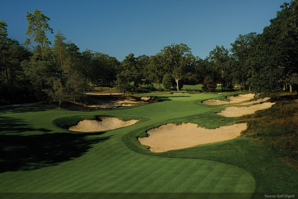 Top 10 Golf Courses In The U.S.