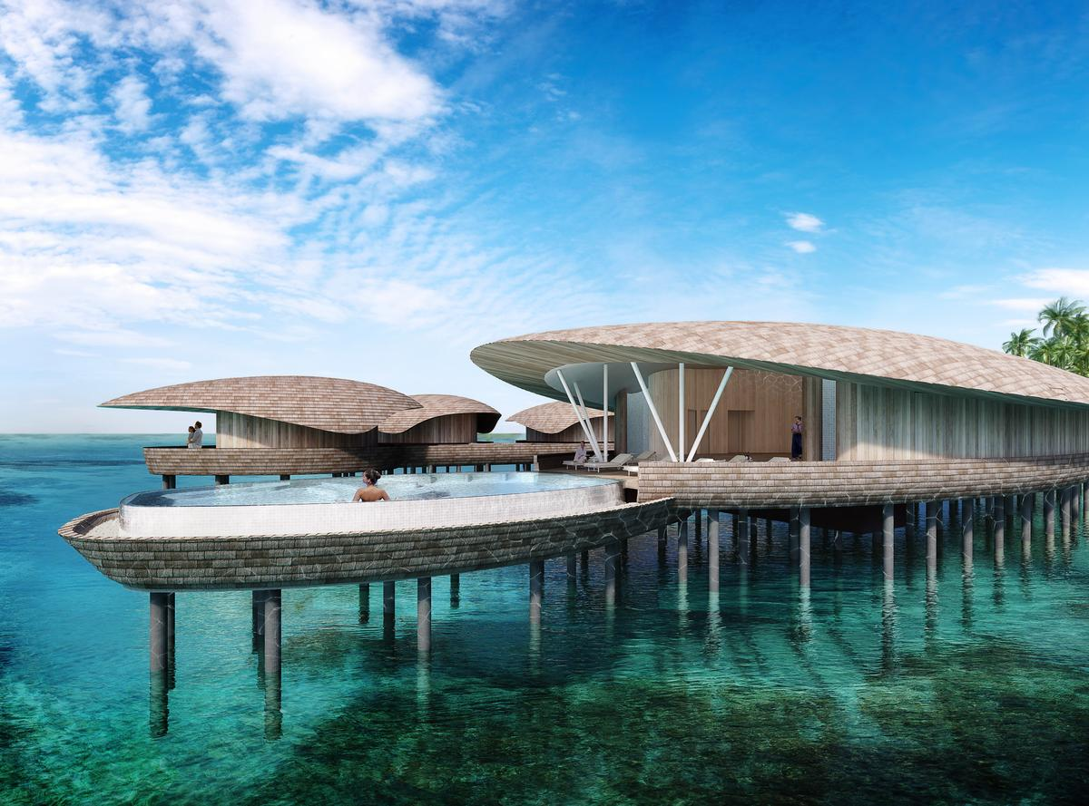St Regis Island Resort Malediven