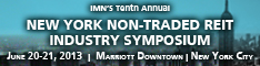 New York Non- Traded REIT Industry Symposium