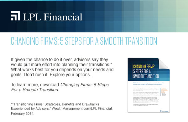 Changing Firms: 5 Steps For a Smooth Transition
